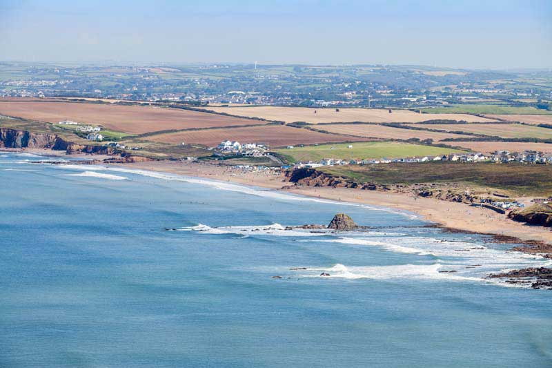 Black Rock Beach, Bude Cornwall