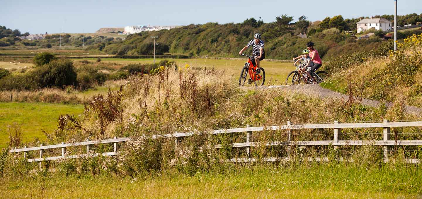 Off road cycling in Bude