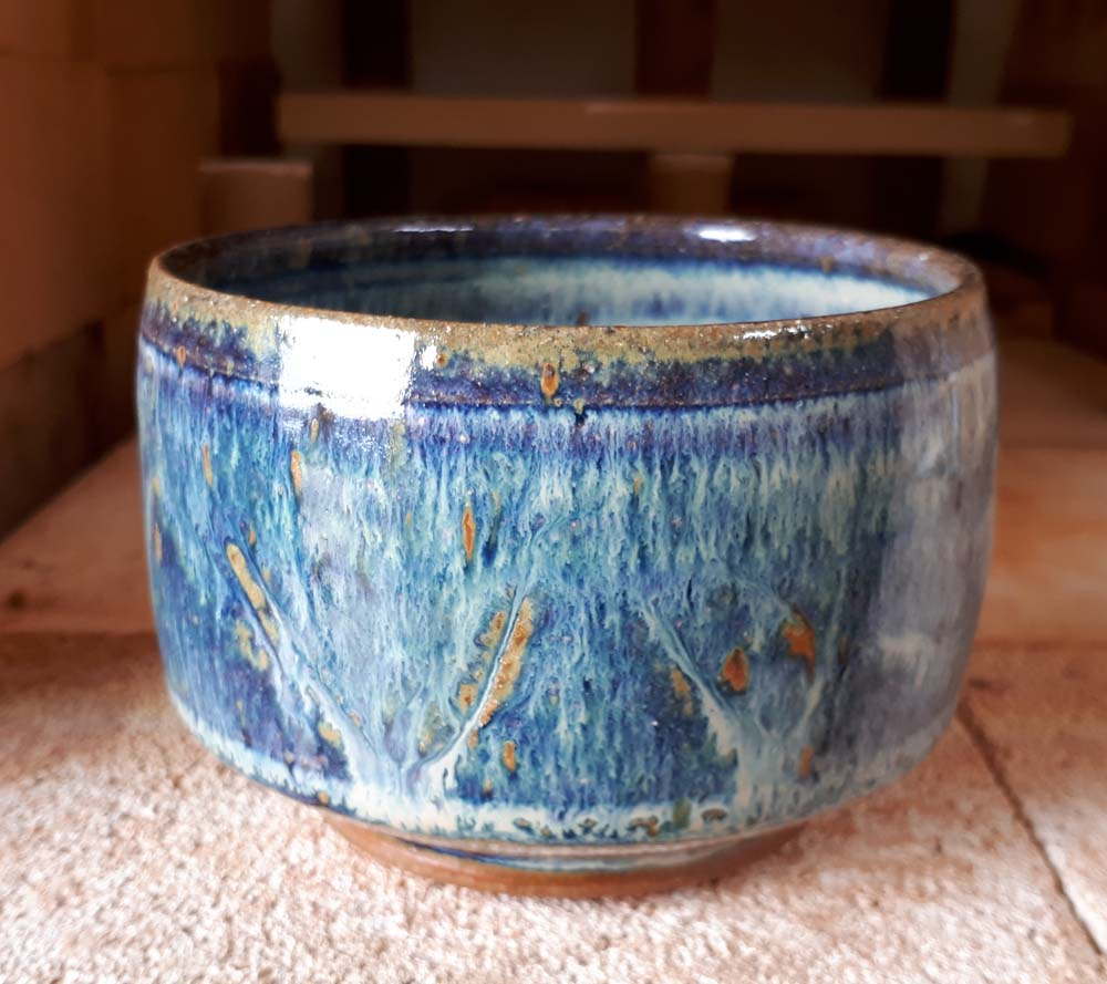 Welcombe pottery chun tea bowl march 2018